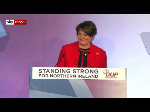 "DUP Conference: Arlene Foster states the choice is ""not between this deal and no-deal"""
