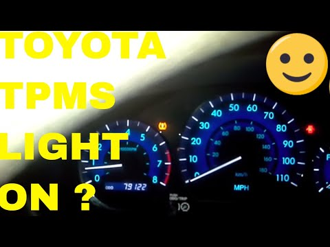 How to Reset Tire Pressure Warning Light on a Toyota