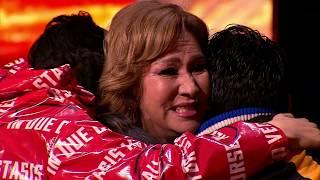 Объявление Результата 7 концерта. Проигрыш Еламана... X Factor Kazakhstan. LS-07. S.7. Episode 17