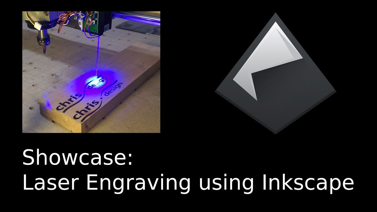 Laser Engraving: Rastering vs Toolpaths with Inkscape