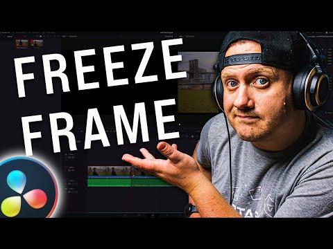 EASY Freeze Frame Effect | Davinci Resolve Quick Tips