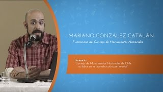 VI Encuentro Binacional de Museos 2016 - Expositor Mariano Gonzalez