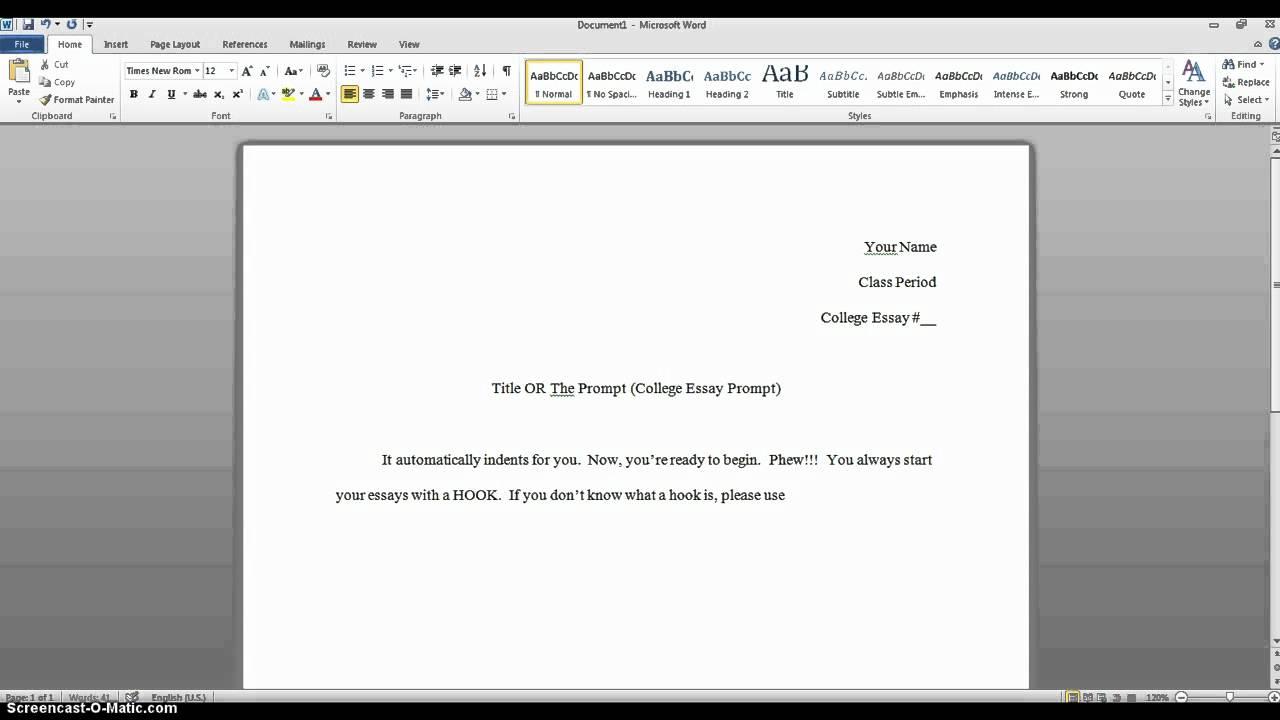 How to properly head a paper for college - alexwrirter.web.fc2.com