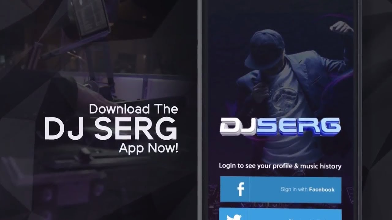 DJ Serg (Mobile App Promo 2017)