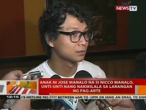 Anak ni Jose Manalo na si Nicco Manalo, unti-unti nang nakilala sa larangan ng pag-arte