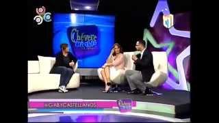 Gaby Castellanos en entrevista con Milagros Germán  La Diva  en  Chevere Nights. 12/05/2015
