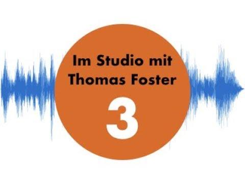 Im Studio mit Thomas Foster #3News-Jingle komponieren