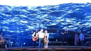 Helene Fischer 15.06.2013 Gelsenkirchen - Auftritt mit Santiano