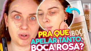 RESENHA COMPLETA DA BASE BOCA ROSA BEAUTY - Não compre antes de ver esse vídeo | #MinhaoPRInião