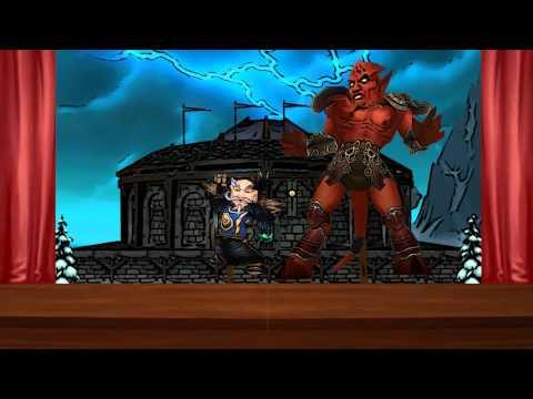 ROFLBear Episode 10 - U Face Jaraxxus (Music Video with MrVoletron and Myndflame)