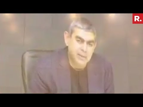 Infosys News Conference After CEO Vishal Sikka's Resignation - Full