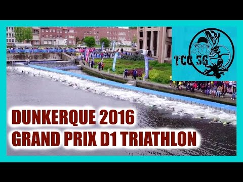 Grand Prix D1 Triathlon Dunkerque 2016 - TCC36