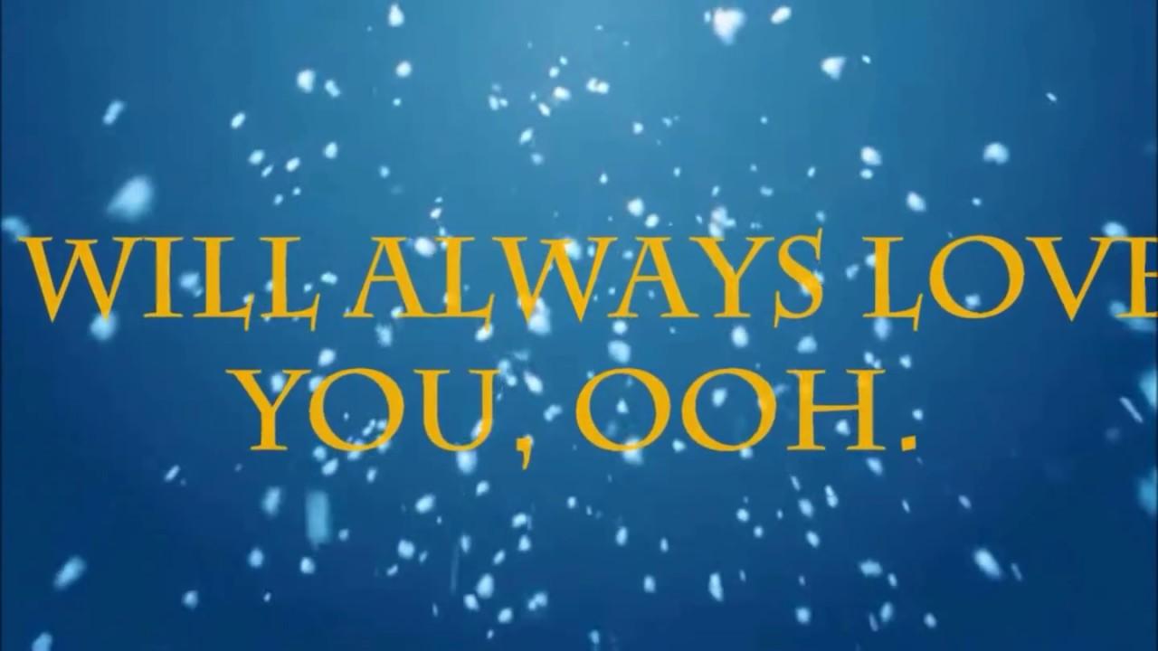 I will always love you(whitneyhouston) christina grimmie.
