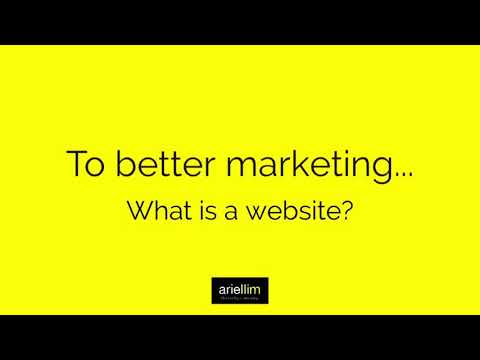 1MMV 001 - What Is a Website?