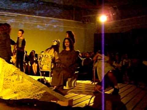 """Fragmento de la obra """"La Balsa de Medusa"""". Compañía Mestizaje Teatro, dirigida por Eduardo Mendoza"""