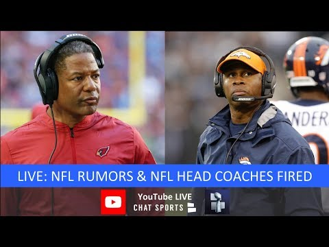 NFL Coaches Fired: Marvin Lewis, Adam Gase, Steve Wilks, Vance Joseph & Possible Coach Candidates