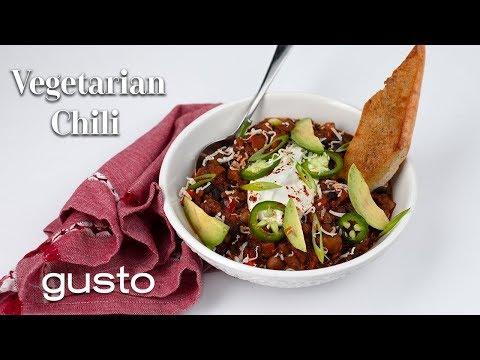 Hearty Vegetarian Chili Recipe
