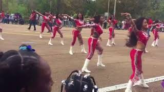 Dancing Dolls: 2017 JSU Homecoming Parade