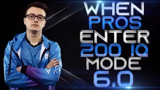 DOTA 2 - WHEN PROS ENTER 200 IQ MODE 6.0! (Smartest Plays & Next Level Moves By Pros)