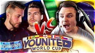 FIFA 18: YOUnited WORLD CUP Gruppenspiel #2 - DieHahn vs. Tisi Schubech👿🔥 Rückspiel