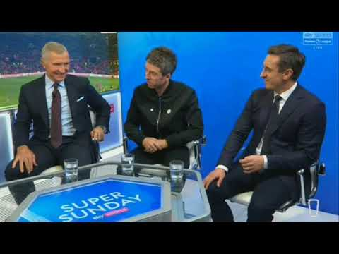 Noel Gallagher makes fun of Gary Neville on Sky Sports