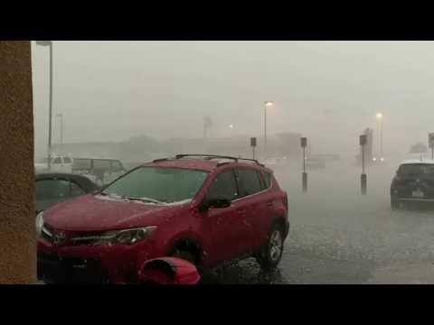 Las Vegas hail storm June 2016