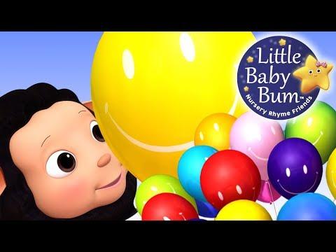 Color Balloons Song   Nursery Rhymes   Original Songs By LittleBabyBum!