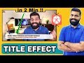 Add Video Title/Topic text effect like technical guruji In Starting