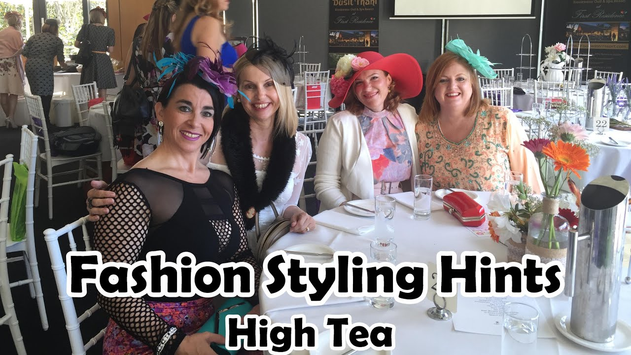 what to wear for high tea party