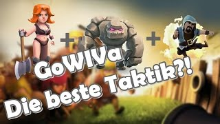 GoWiWa Taktik/ Beste Taktik?! Clash of Clans PadsLP [HD/German]