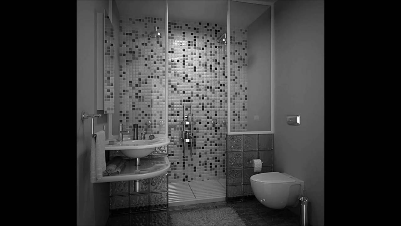 white black bathroom modern classic style bathroom black and white tile design 15122