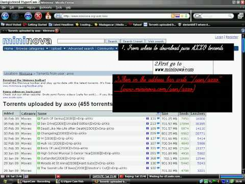 How to download 100 Pure and Free AXXO Torrents