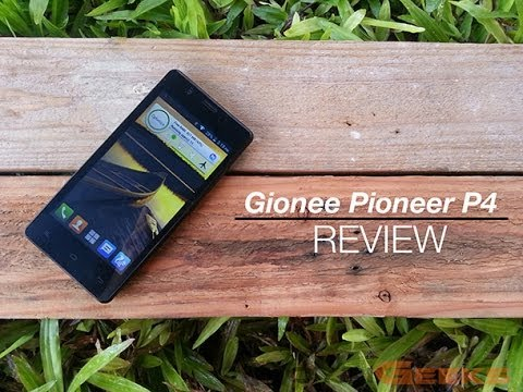 Gionee Pioneer P4 Review Videos