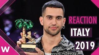 Italy Eurovision 2019: Mahmood