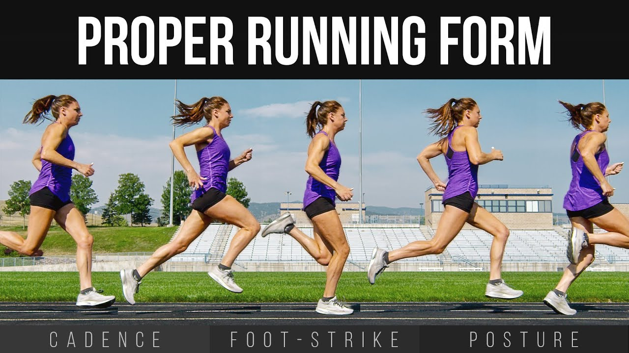 Proper Running Form | Cadence, Foot Strike & Posture - YouTube