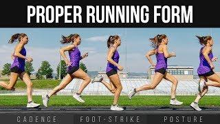 Скачать Proper Running Form Cadence Foot Strike Posture