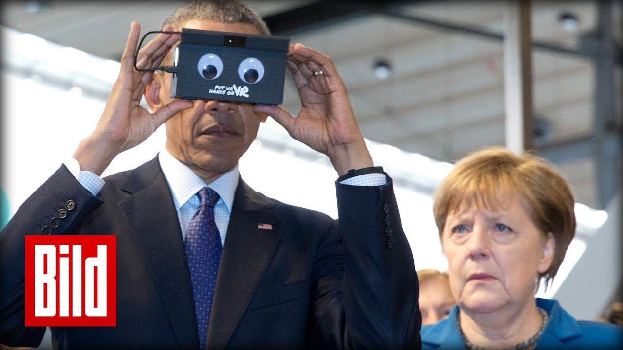 Angela Merkel Live