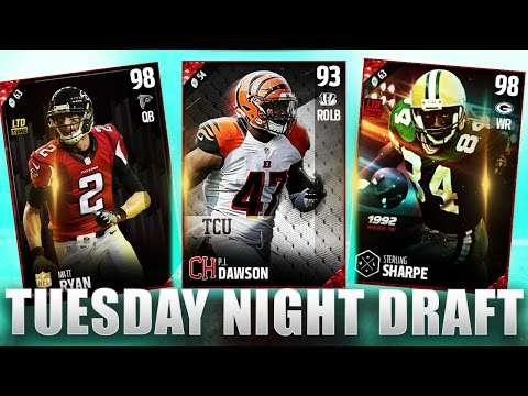 GAME COMES DOWN TO THE WIRE IN TUESDAY NIGHT DRAFT!! - MADDEN 17 DRAFT CHAMPIONS