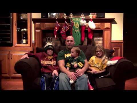 The Iberdrola Renewables Team Powers Santa's Sleigh with Renewable Wind Energy