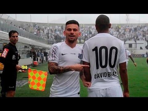 Lucas Lima marca o 100º Gol do Peixe na temporada 2015