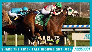 Vidéo de la course PMU FALL HIGHWEIGHT HANDICAP