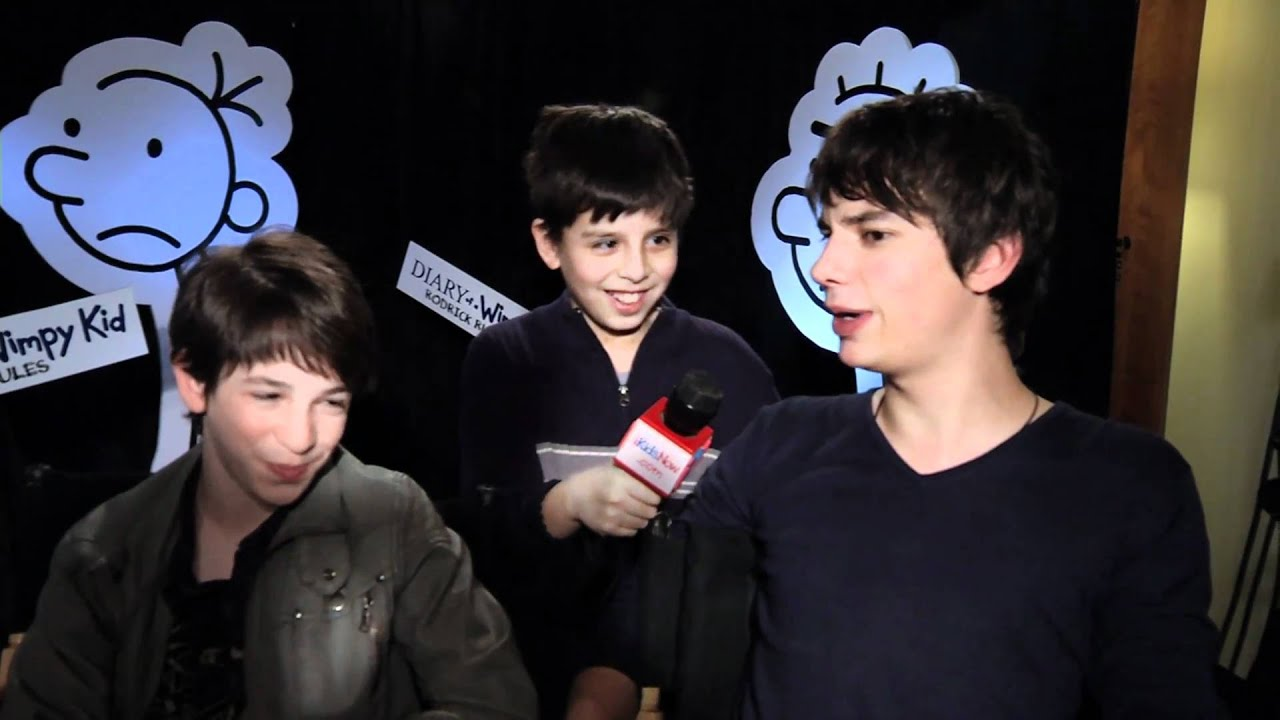 Diary Of A Wimpy Kid 2 Interview W Cast Youtube