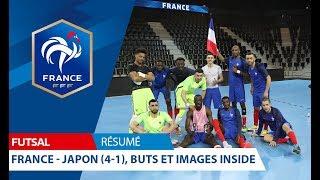 Futsal, amical : France-Japon (4-1), résumé et images inside I FFF 2018