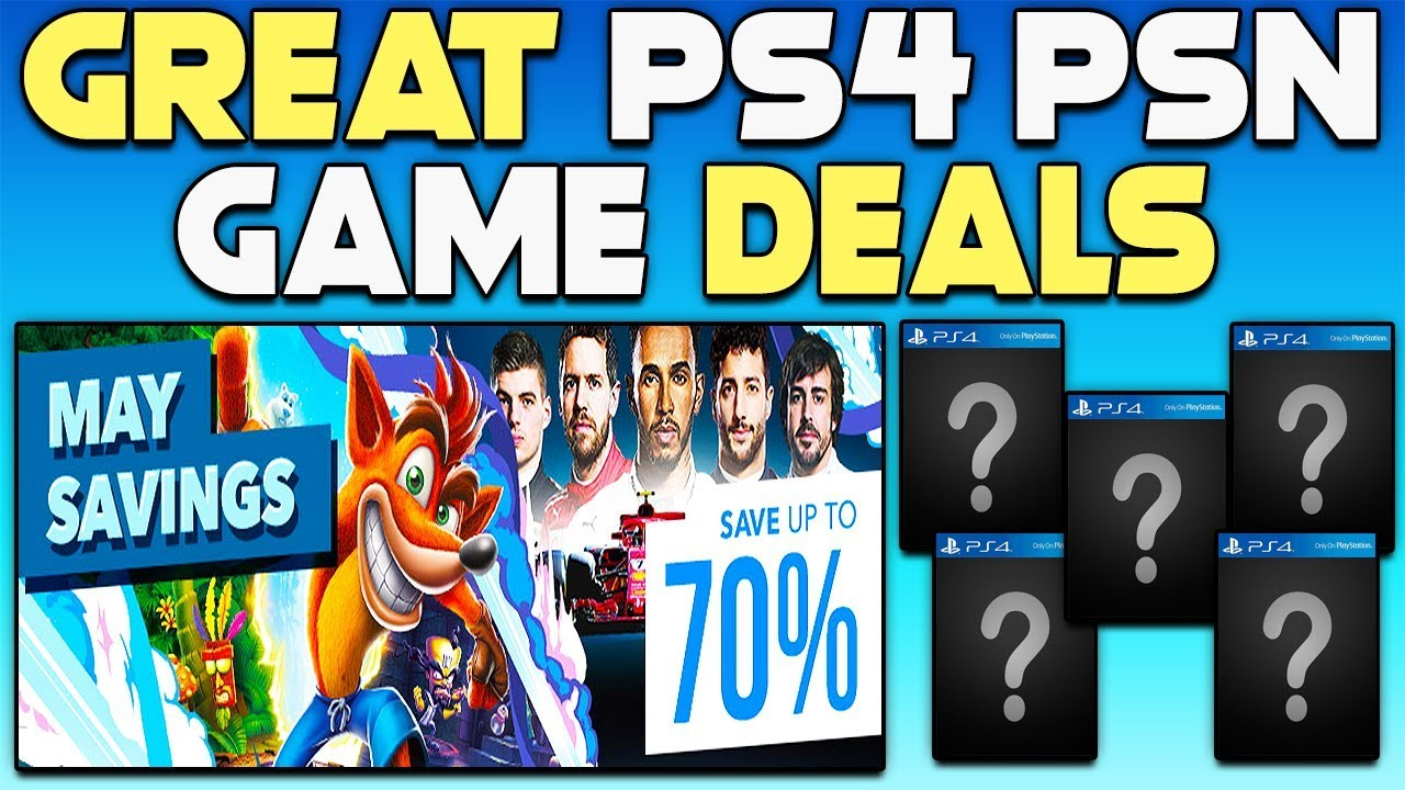 Great Ps4 Game Deals New Big Eu Psn Sale Get Free Stuff