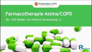 Farmacotherapie bij astma en COPD
