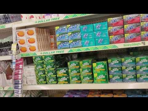 Dollar Tree Soap & Deodorant Shelf Organization 7-16-2019