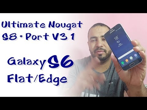 ROM  Ultimate Nougat S8 + Port V3 1 Galaxy S6 Flat/Edge