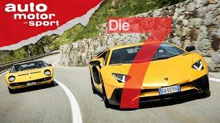 Aus der Insolvenz auf die Überholspur: 7 Fakten zu 70 Jahre Lamborghini | auto motor und sport