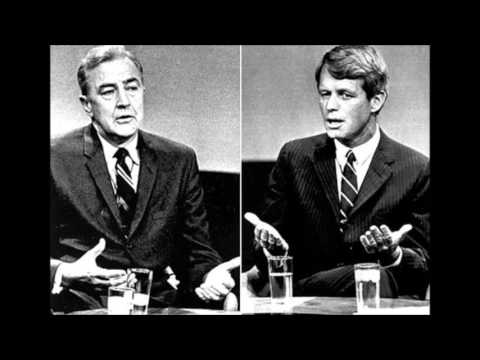 Robert F Kennedy and Eugene McCarthy Primary Debate (6-1-68)