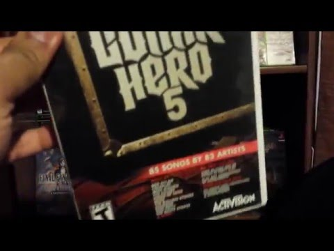 Video Game Collection - Rock Band and Guitar Hero Collections Version 1